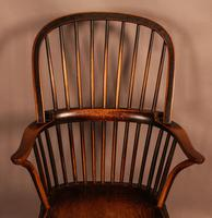 Thames Valley Yew Wood Windsor Chair (4 of 11)