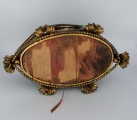 X Large Brass Framed Casket / Box c.1850 (3 of 7)