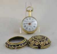 Issac Soret & Fils c.1750 Verge Pocket Watch (6 of 6)