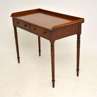 Antique Victorian  Mahogany Writing Table / Desk (7 of 10)