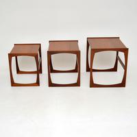 Teak Vintage Quadrille Nest of Tables by G Plan (2 of 10)