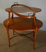 Satinwood Tray Top Table (6 of 8)