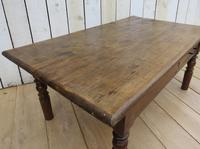 Antique French Ash Coffee Table (3 of 8)