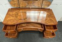 Stylish Burr Walnut Queen Anne Dressing Table (14 of 14)