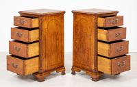 Pair of Yew Wood Oyster Chests (8 of 10)