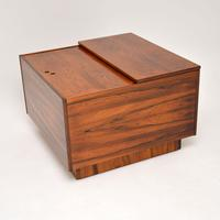 1960's Swedish Rosewood  Drinks Cabinet / Coffee Table (6 of 13)