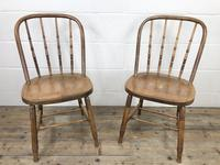 Set of Four Antique Bentwood Chairs (3 of 8)