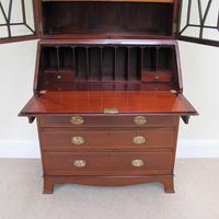Mahogany Bureau Bookcase - Edwardian (5 of 6)