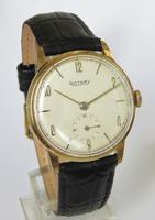 Gents 9ct gold Rotary wrist watch, 1967 (2 of 5)