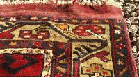 1930's Hand Woven Turkish Karapinar Rug (6 of 6)