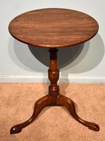 George III Oak Tilting Lamp / Wine Table (5 of 5)