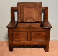 Mid 19th Century French Chestnut Bench (4 of 7)