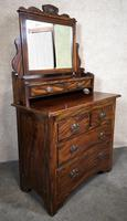Edwardian Simulated Walnut Bedroom Suite (16 of 21)