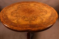 Stunning Quality Victorian Burr Walnut Centre Table Exhibition quality (5 of 15)