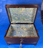 William IV Rosewood Jewellery Box with Inlays (12 of 12)