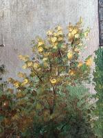 Edwardian Oil Painting Historical Tudor House Little Moreton Hall Congleton (8 of 12)