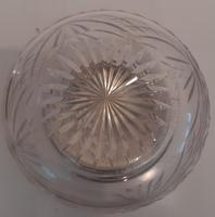Crystal Bowl with Silver Lid, Hallmarked 1921 (3 of 3)