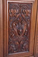 Victorian Arts & Crafts Walnut Cabinet (10 of 13)