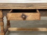 French Rustic Bleached Oak Coffee Table (12 of 17)