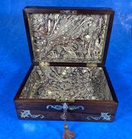 Victorian Jewellery Box with Mother of Pearl Inlay (9 of 13)