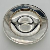 20th Century Modern Large Sterling Silver Armada Dish London 1994 Mappin & Webb (5 of 7)