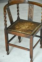 Early 20th Century Corner Chair (7 of 9)