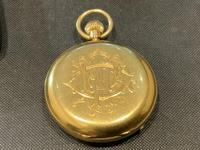 18ct Full Hunter Pocket Watch by Rotherham's of London (4 of 12)
