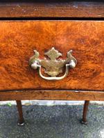 Antique Burr Walnut Drop Flap Side Table (2 of 9)