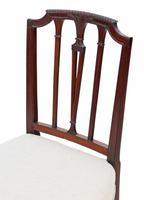 Set of 6 19th Century mahogany dining chairs Baker of Bath (6 of 11)
