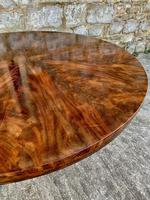 Exceptional Quality Regency Flame Mahogany Centre Table (3 of 10)