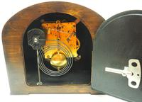 Really Good Hat Shaped Mantel Clock – Striking 8-day Arched Top Mantle Clock (9 of 10)