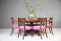 Antique Mahogany Tilt Top Table (7 of 13)