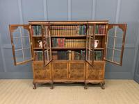 Shapland & Petter Burr Walnut Bookcase (4 of 23)