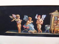 Watercolour Mischievous Putti Listed Artist E P Fenderico (8 of 14)