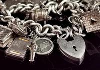 Vintage Sterling Silver Charm Bracelet, 1960s - Heavy (3 of 12)
