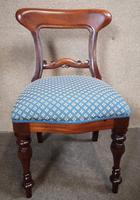 Set of Six Mahogany Dining Chairs In The Victorian Style (6 of 10)