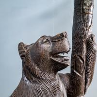 Black Forest Carved Bear Hall Stand (9 of 9)