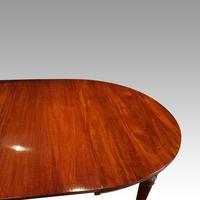 Edwardian mahogany circular extending dining table (10 of 14)