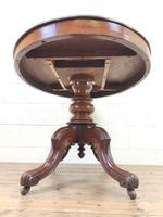 Antique Mahogany Centre Table (10 of 11)