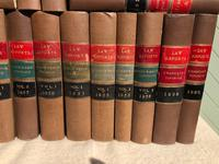 30 Antique Leather Bound Law Book 1930's (2 of 6)