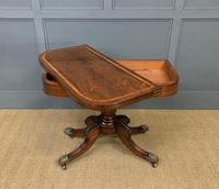 Regency Period Inlaid Rosewood Card Table (4 of 20)