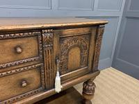 Ipswich Oak Carved Sideboard (6 of 16)