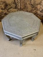 Indian Silvered Coffee Table (2 of 6)