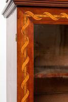 Superb Dutch Mahogany Inlaid Bookcase (6 of 9)
