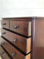 Victorian Mahogany Straight Front Chest of Drawers (11 of 16)