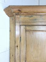 Antique Pine Free Standing Corner Cupboard (5 of 10)