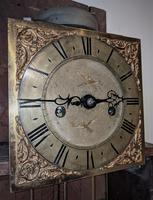 18th Cent Oak Long Case Clock (3 of 5)