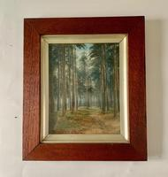 Pair of 19thc Woodland Scenes - signed Macdonald (5 of 5)