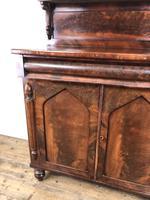 Antique 19th Century Mahogany Chiffonier Sideboard (4 of 12)