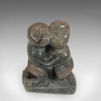 Small Antique Tribal Figure, Polynesian, Decorative, Soapstone, Statue, C.1900 (10 of 10)